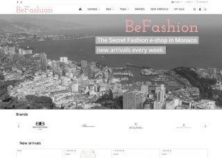 BeFashion – The Secret Fashion e-shop in Monaco